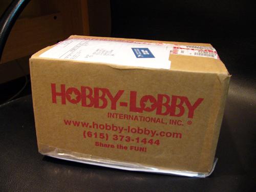 Hobby-lobbyの箱