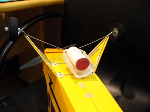 電動用スモークをハイペリオン CUB25にセットしてみました♪