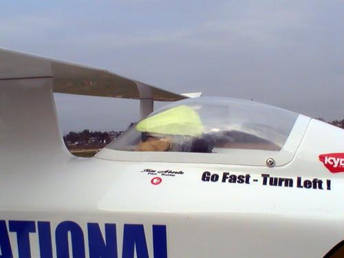 KYOSHO Phantom 70E パイロット
