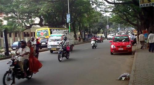 インド交通事情