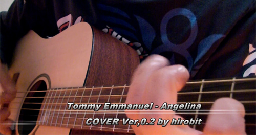 Tommy Emmanuel - Angelina COVER ver0.2