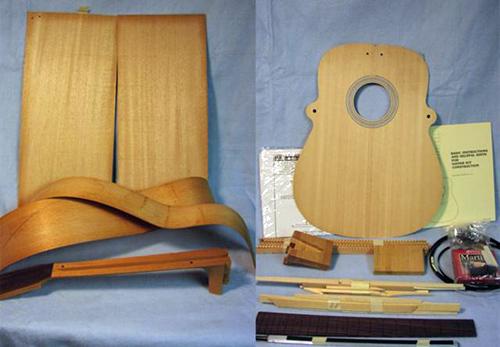 MARTIN D-18 mahogany dreadnought guitar kit
