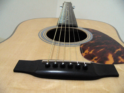 MARTIN D-28キット エボニーブリッジ