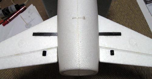 TIANSHENG MODEL RED Arrow 5S仕様 水平尾翼