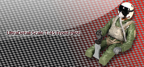 UltraDetail Scale T-45 Front Pilot