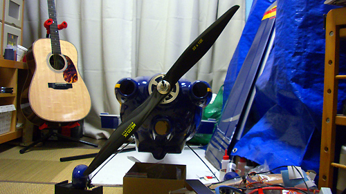 MXS-R 30cc 電動コンバージョンの進捗状況