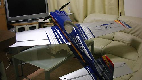 MXS-R 30cc 電動コンバージョン 後ろからのカット