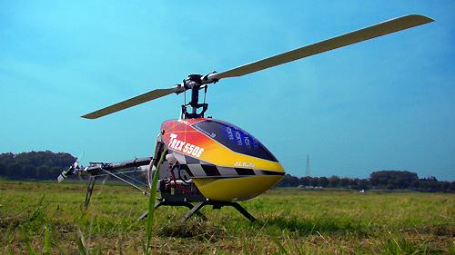 T-REX550E 3G初飛行