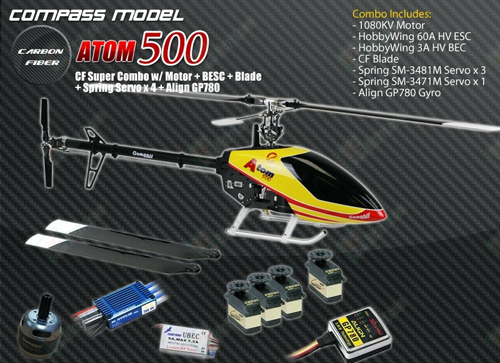 Compass Atom 500 3D CF Super Combo