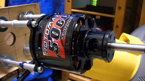 MXS-R 50cc 電動コンバージョン Turnigy RotoMax