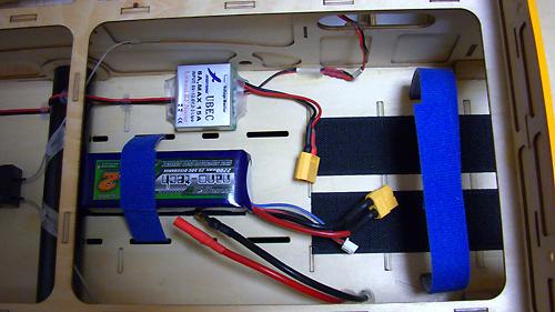 MXS-R 50cc 電動コンバージョン BEC電源