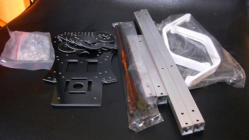 Fiber Glass Spider Style Frame 開梱