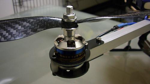 Frog Style クワッドコプター モーターマウント