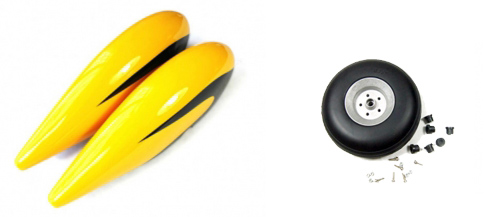 MXS-R 50cc 電動コンバージョンのホイールパンツ
