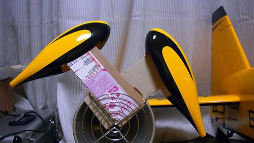 MXS-R 50cc電動コンバージョン用スパッツ