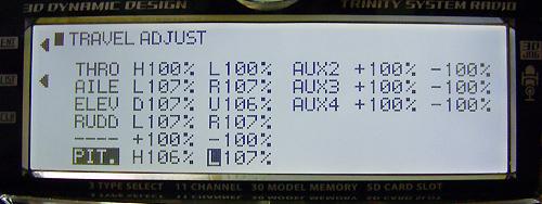 JR11X トラベルアジャスト調整例