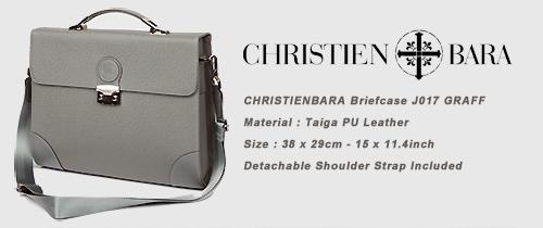 CHRISTIENBARA briefcase