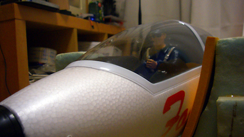 Fox EPO Glider 2.32M パイロット