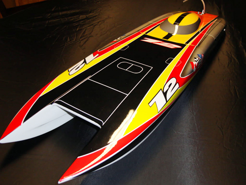Genesis Offshore Brushless RC Twin Hull