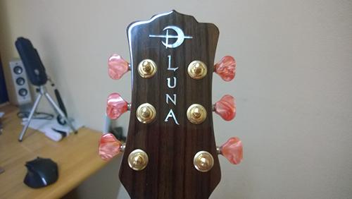 Luna Guitars Vicki Genfan SG ヘッド