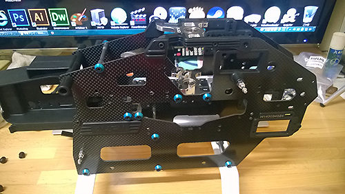 ALIGN T-REX550L DOMINATOR組み立て開始
