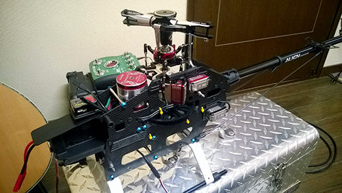T-REX550L DOMINATOR の進捗状況