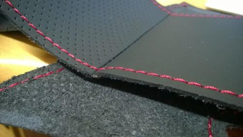 車種専用の編むハンドルカバー