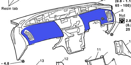 アルカンターラ調シート適用シミュレーション(1)