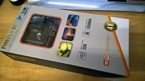 Hawkeye Firefly 6S 外箱
