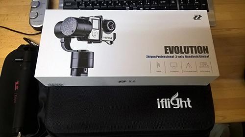 Zhiyun Z1-EVOLUTION + ケース + 延長伸縮ロッド