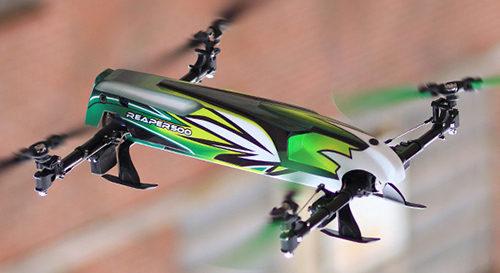 Assault Reaper 500 Collective Pitch 3D Quadcopter