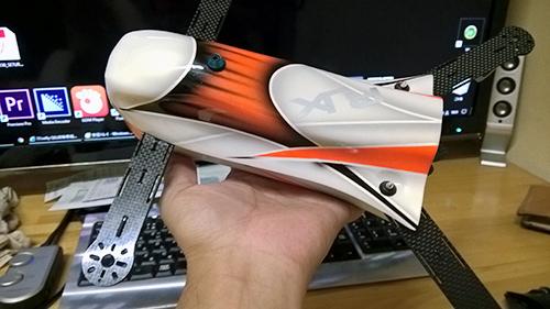 RJX CAOS 330 サイズ感