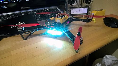 Matek RGB 8 LED WS2812B w 発光