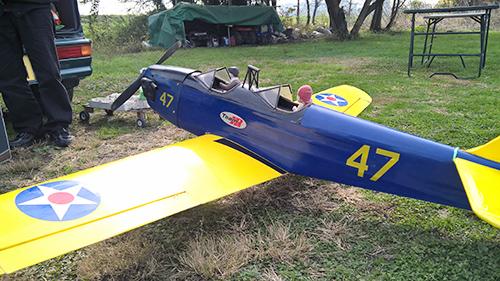 クラブの方の機体 PT-22 ライアン?