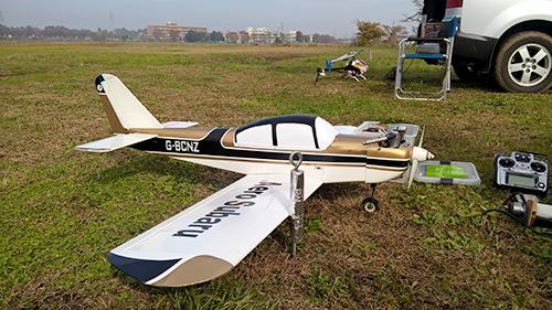 クラブの方の機体 エアロスバル