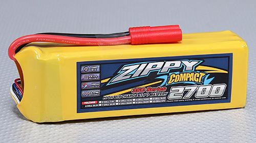 ZIPPY Compact 2700mAh 6S 35C Lipo Pack