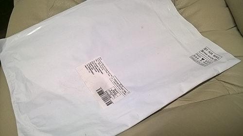 中国からの郵便物