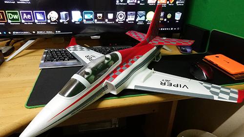 Mini Viper Jet 完成