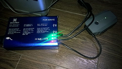 DJI Mavic 社外品充電器