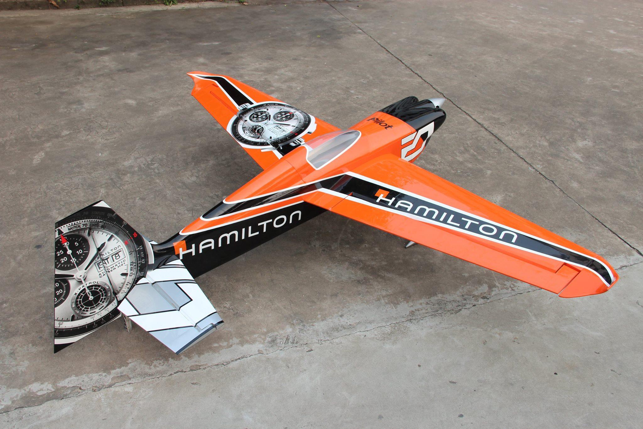 EDGE540V3 92inch HAMILTON 50cc