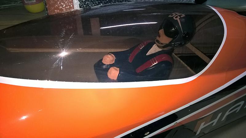 EDGE540 HAMILTON 電動(60cc)パイロット