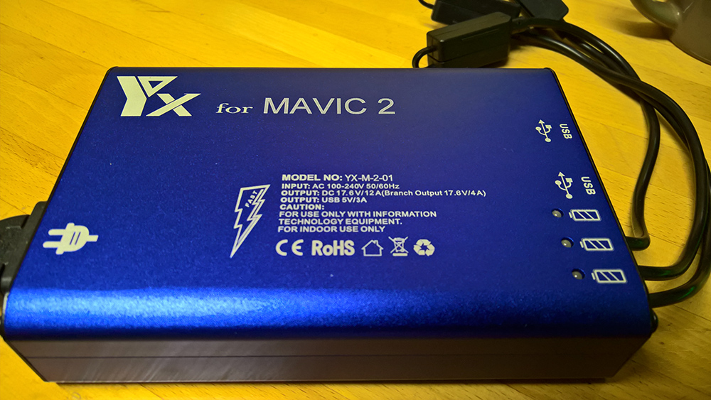 Mavic2 Pro 社外充電器