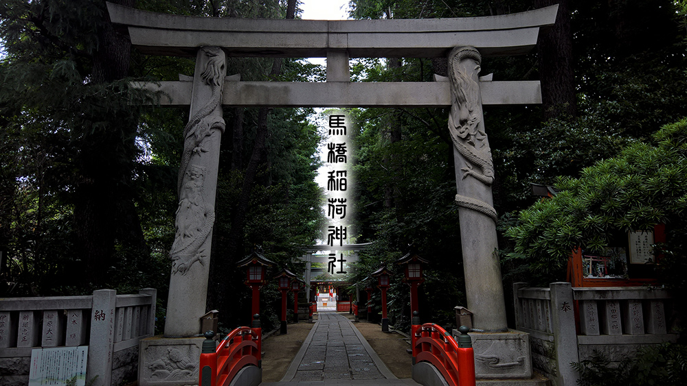 馬橋稲荷神社をMavic2Proで撮影