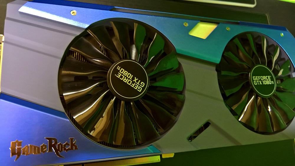Palit GTX 1080 Ti ボディ