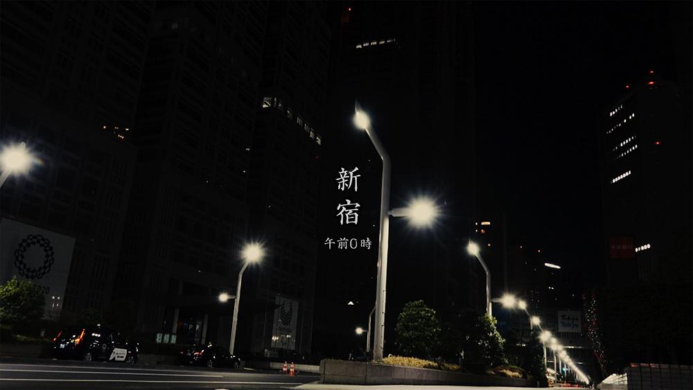 新宿午前0時 - SONY RX100M7で夜間撮影