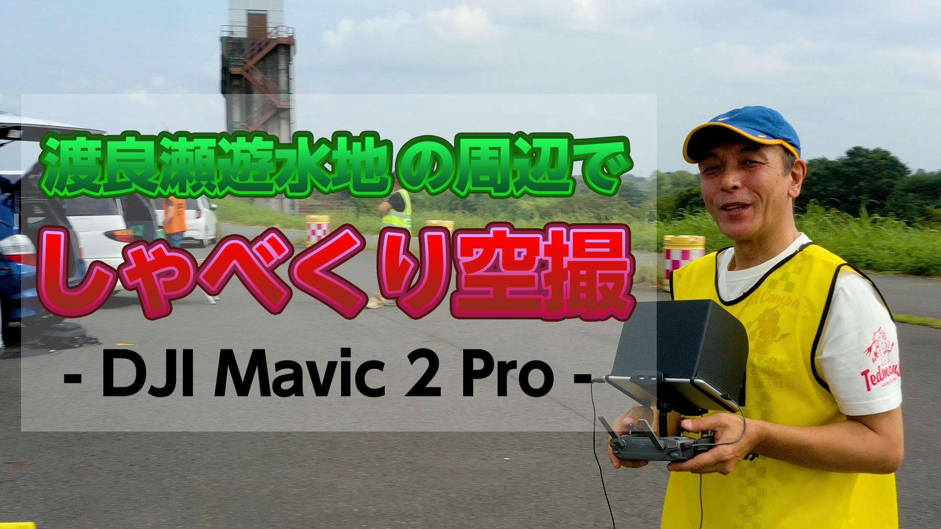 渡良瀬遊水地の周辺でしゃべくり空撮 - Mavic 2 Pro DJI